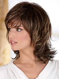 short crown layered shag long haircut medium hairstyles to make you look younger shoulder length wig