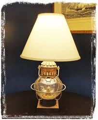 nautical lamp shades amazing vintage bitossi pottery table lamp