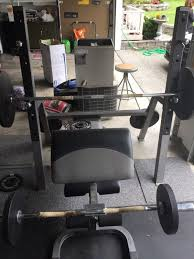 Squat Rack And Bench Linex Weight Bench With Squat Rack And Preacher Curl Sports