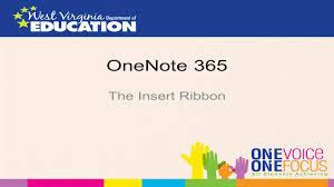 minecraft ribbon officemix onenote 365 the insert ribbon