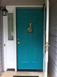 turquoise front door front door paint colors for brick house