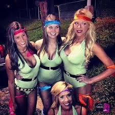 Gayest Halloween Costumes Ghouls Wild 60 Creative Girlfriend Group Costumes Teenage