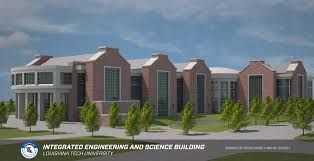 Louisiana Tech Map by Integrated Engineering And Science Education Building Louisiana