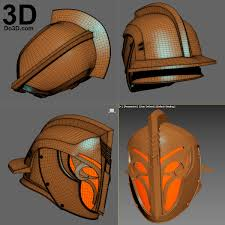 3d printable model titan days of iron crown ornamental helmet