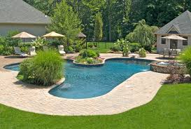 landscaping ideas around a pool surprising design furniture of