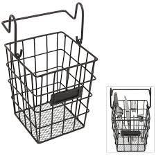 Metal Home Decor Wall Mount Wire Basket Cool Design Homesfeed