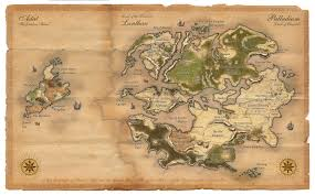 Blank Fantasy World Map by World Maps Free Online
