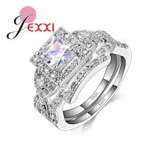 Sterling Silver Wedding Ring Sets by 69 Best 925 Sterling Ring Images On Pinterest Sterling Silver
