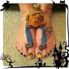 jack sally toe nails awesome halloween toe nail art designs for