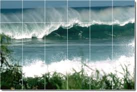 28 tile wall mural ceramic mural wall tile superior tile tile wall mural waves photo wall tile mural 11