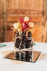 Camo Wedding Centerpieces by 50 Fabulous Mirror Wedding Ideas You U0027ll Love Beer Bottles