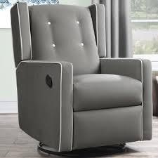 Rocking Recliner Chair For Nursery Nursery Recliner Glider Wayfair
