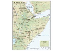 Map Of Uganda Africa by Maps Of Horn Of Africa Horn Of Africa Maps Collection Of