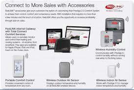 Honeywell Portable Comfort Control Redlink Controltrends