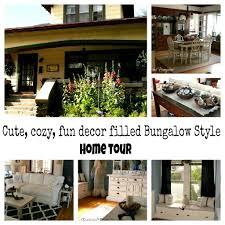 bungalow style home tour debbiedoos