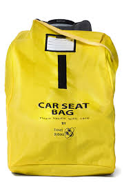 Car seat travel bag travel babeez