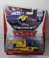 cars disney race tow truck tom cars disney pixar piston cup release mattel