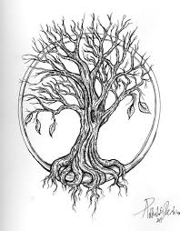 oak tree tattoos collections