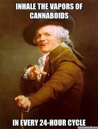 Big Ego Meme - weed everyday