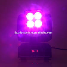 Cheap Moving Head Lights Cheap Led 4x10w Rgbw 4in1 Mini Moving Head Zoom Wash Light Buy