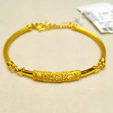 gold lucky bracelet images Chow tai fook gold bangle lucky bangle 999 foot gold road pass jpg