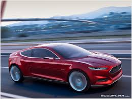 future ford cars ford mustang 2013 inspired the evos concept scoopcar com