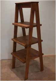 wooden ladder shelf rustic wall ladder shelf wooden ladder shelf