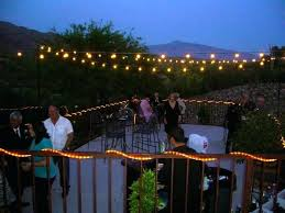Commercial Outdoor String Lights Commercial Outdoor String Lights Bistro Back Porch Exterior Patio