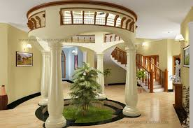 round courtyard design modern bedroom ideas kids kerala house
