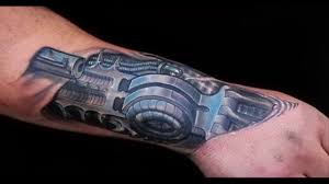 best 3d robotic tattoos hd video dailymotion