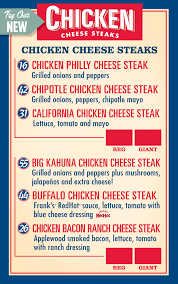 menu board tests push chicken to the fore for jersey mike u0027s fast