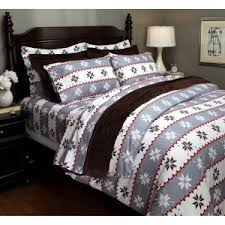 flannel duvet covers and other wintertime accoutrements