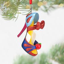 snow white shoe ornament shopdisney