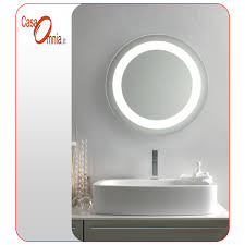 bathroom mirror back lit led anti fog v u0026c orion casaomnia