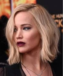 medium length hairstyles for hair parted in middle with bangs all hair makeover jennifer lawrence hairstyles