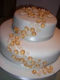 golden wedding cakes golden wedding anniversary cakes golden wedding anniversary