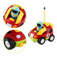 cartoon remote control race car radio baby toys learning toddlers