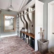 mudroom floor ideas brick floor design ideas