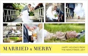 married christmas cards wedding christmas cards personalized christmas photo cards magnets