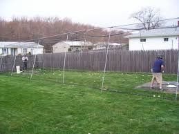portable backyard batting cages ideas backyard batting cages and