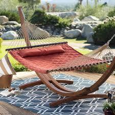 island bay 13 ft sienna diamond stitch quilted double hammock