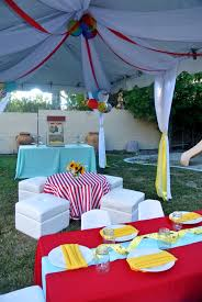 kid u0027s birthday party tent rental kit on call event rentals