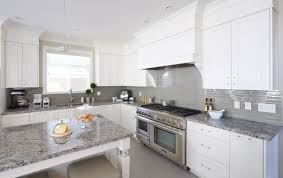 grey kitchen cabinets with granite countertops white and gray granite houzz