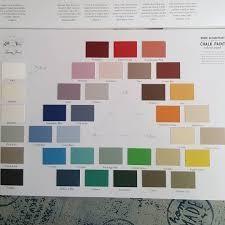 annie sloan chalk paint renk kartelası şu anda 36 farklı ton var