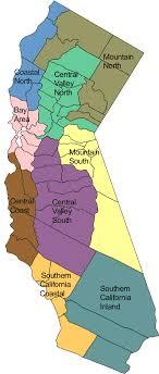 california map regions california regions