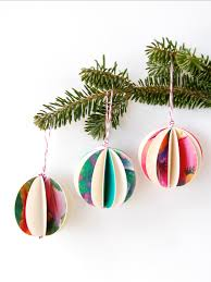 easy diy ornaments made out of cards c r a f t