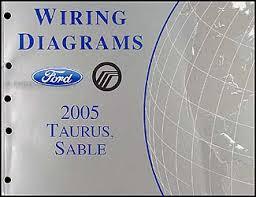 2005 ford taurus u0026 mercury sable wiring diagrams manual original