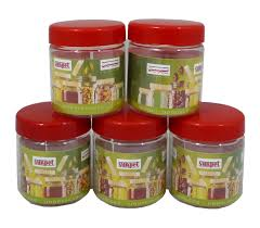 kitchen contemporary milford 3 piece canister set with includes