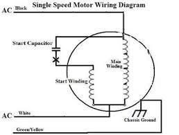 how to reverse the rotation of single phase capacitor start