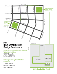 University Of Portland Map by 2017 West Conference Industrial Designers Society Of America Idsa